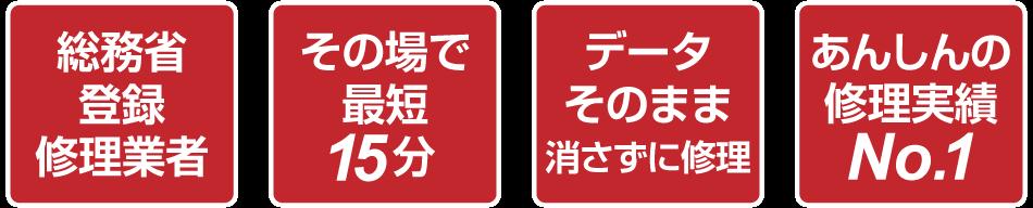 モバイル修理.jpの特徴