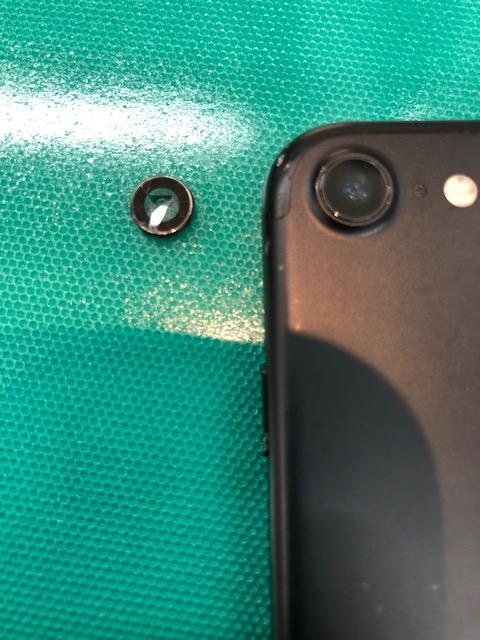 リアカメラガラス交換