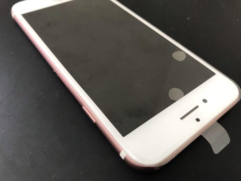 画面交換で綺麗になったiPhone6s