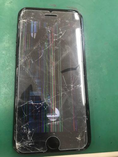 iPhone8 iPhonexs iPhonexr 液晶漏れゴーストタッチ画面交換 本庄店