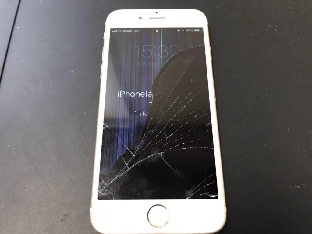 液漏れが起きているiPhone6