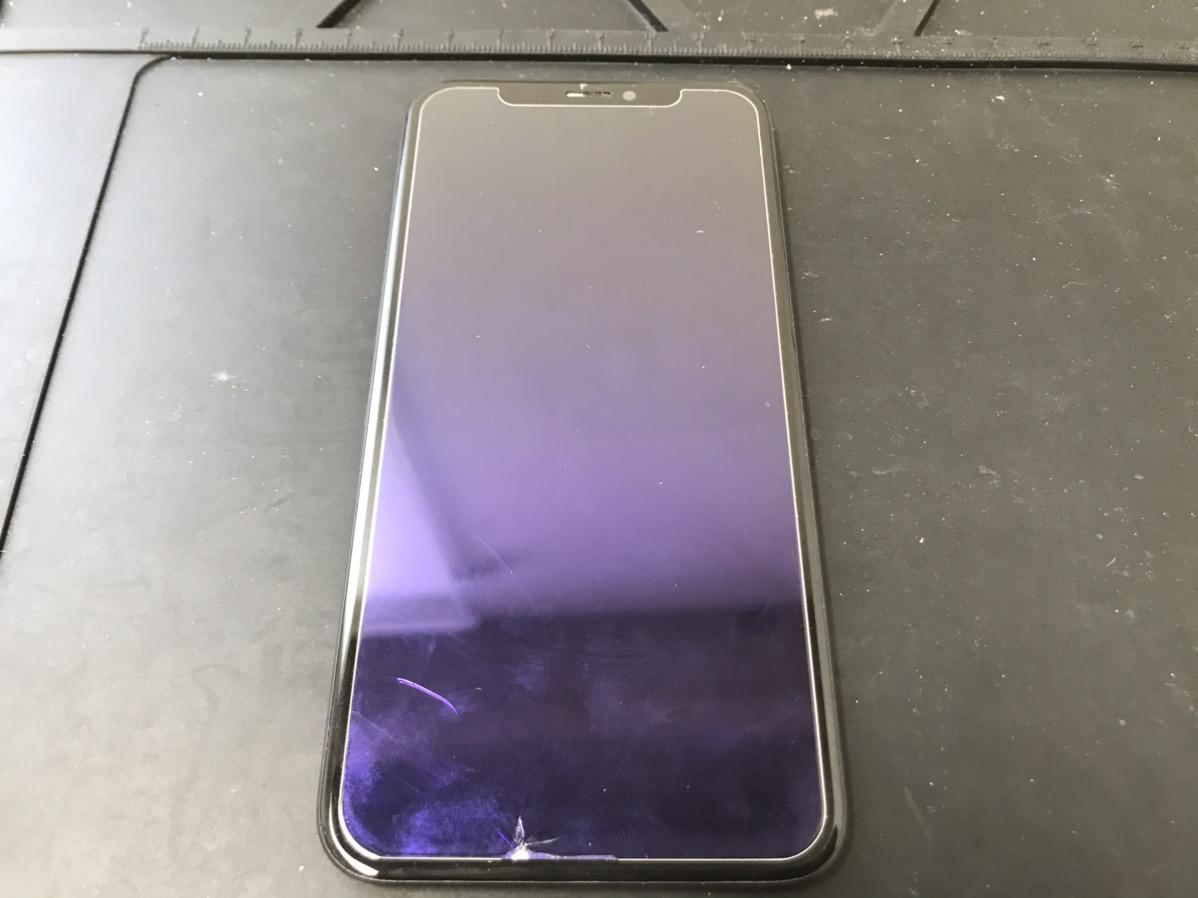 画面が真っ暗になったiPhoneX