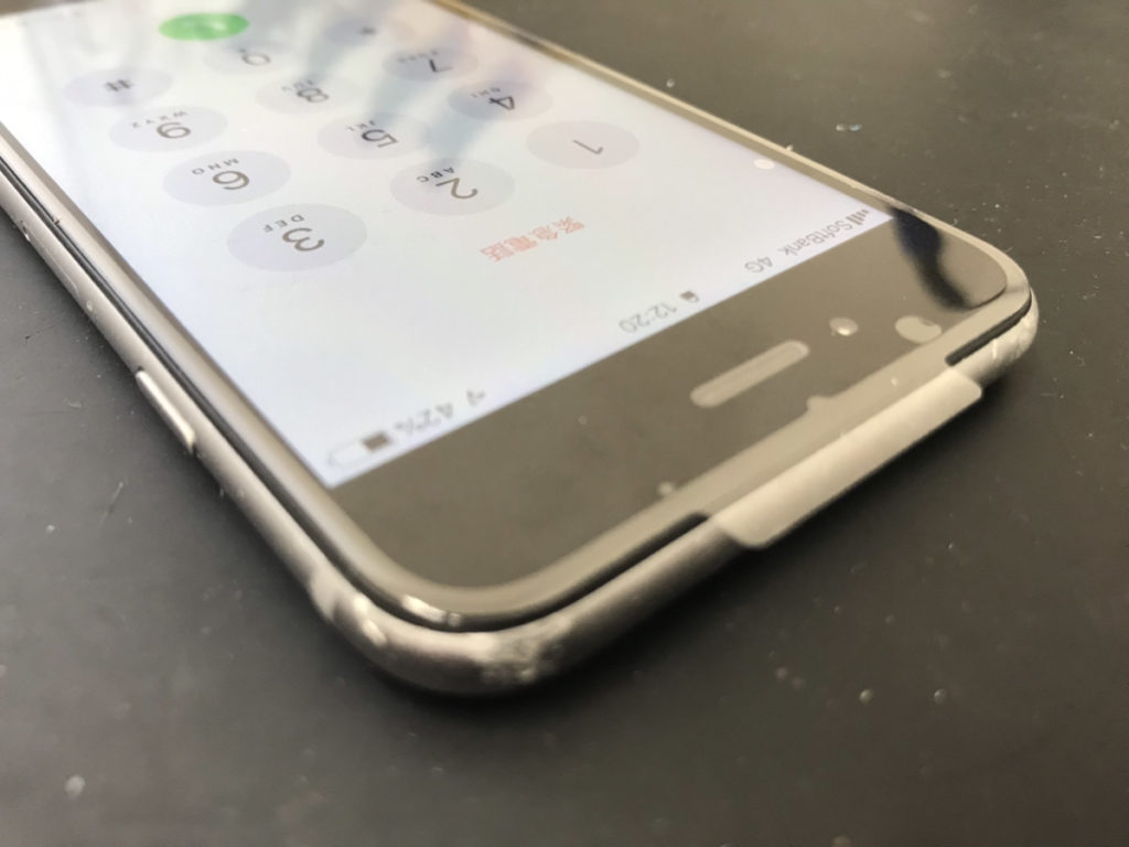 画面修理で綺麗になったiPhone6s