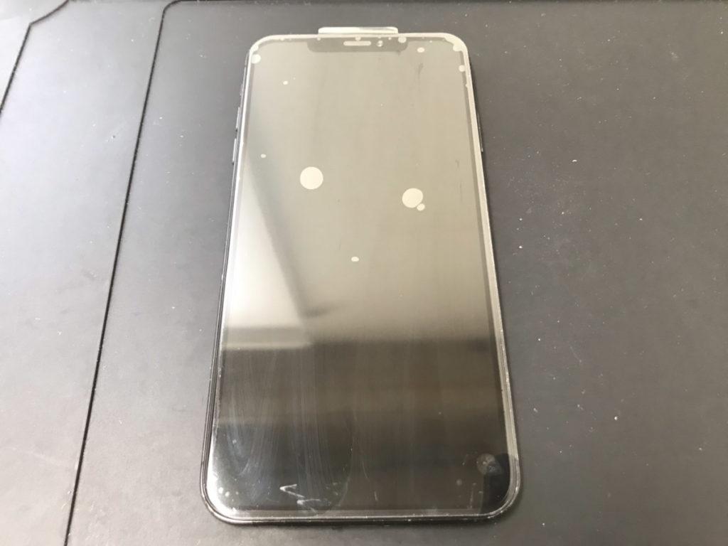 修理後のiPhoneXSMax