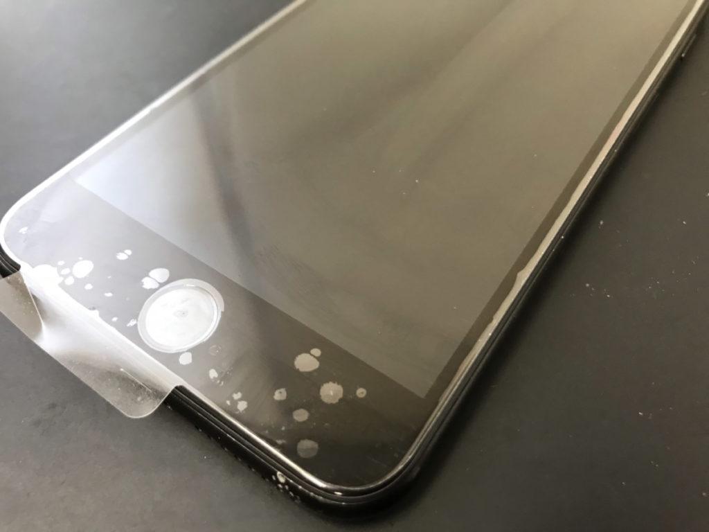 画面交換で綺麗になったiPhone7Plus