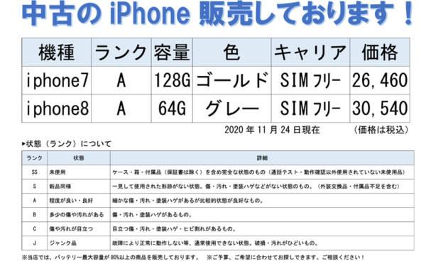 中古iPhoneをお探しなら、モバイル修理.jp 山形店へご相談くださいね