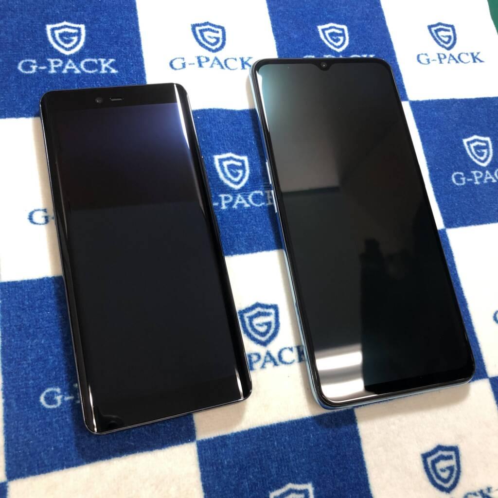 Androidへのガラスコーティング抗菌G-PACK