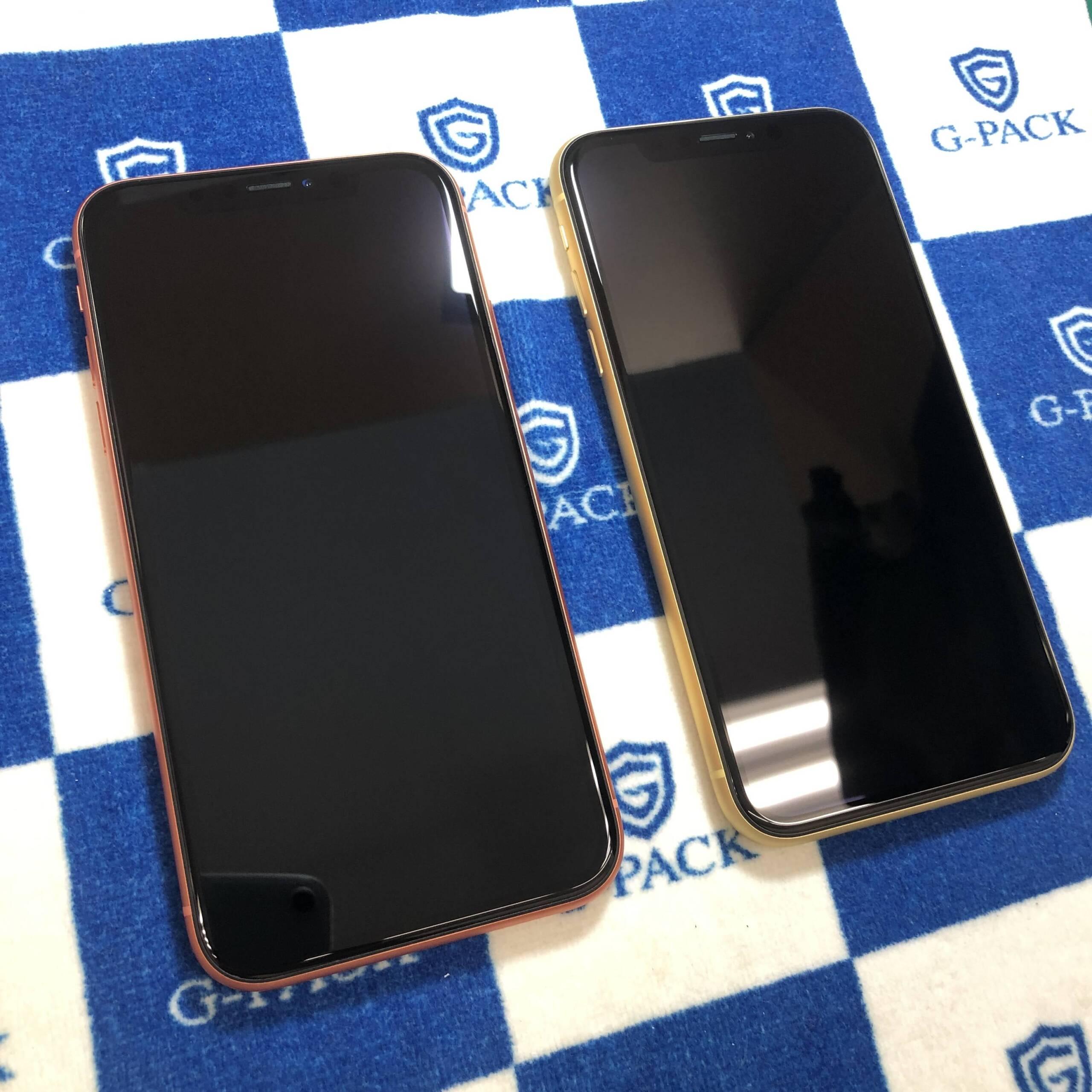 iPhoneへのガラスコーティング抗菌G-PACK