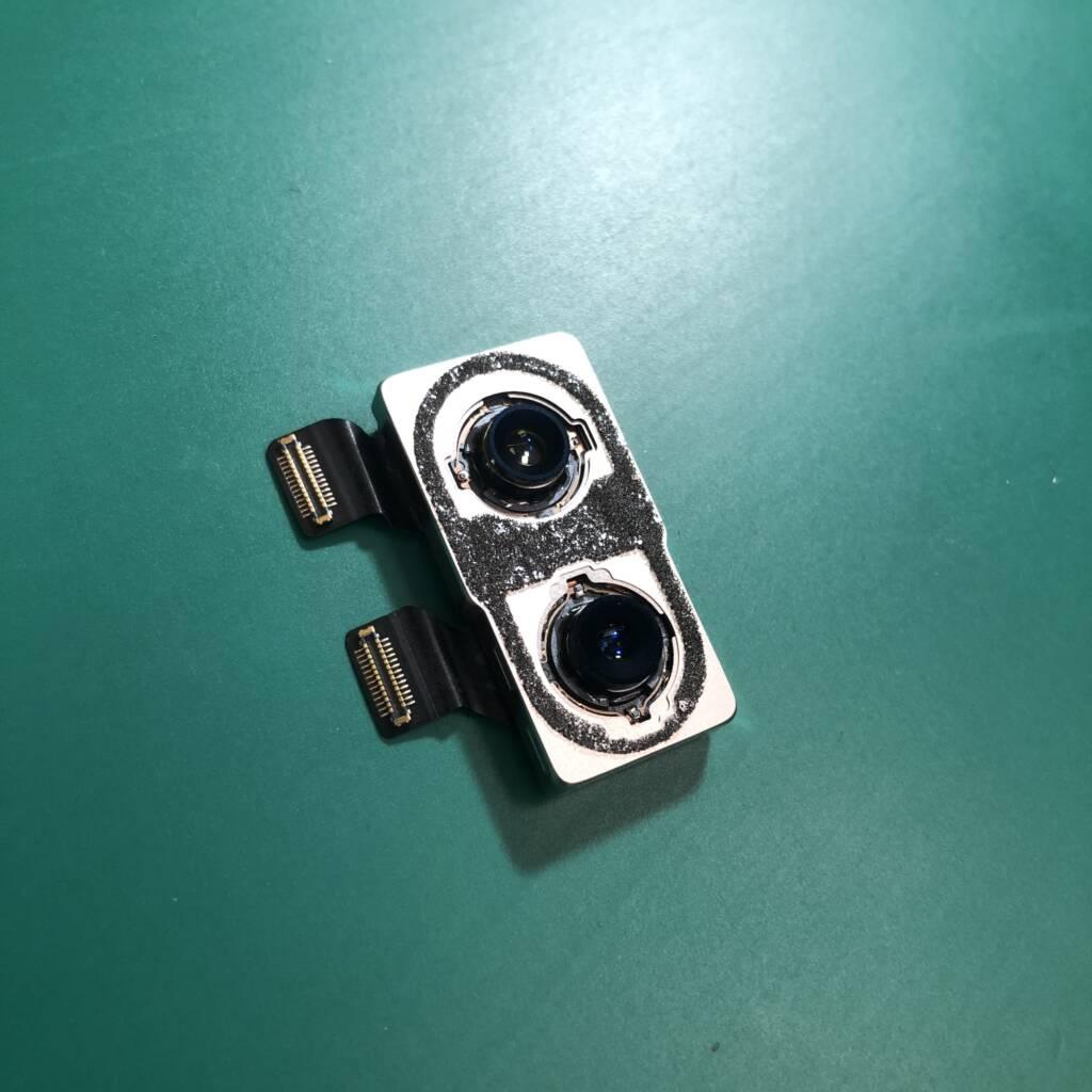 iPhoneXのバックカメラ交換