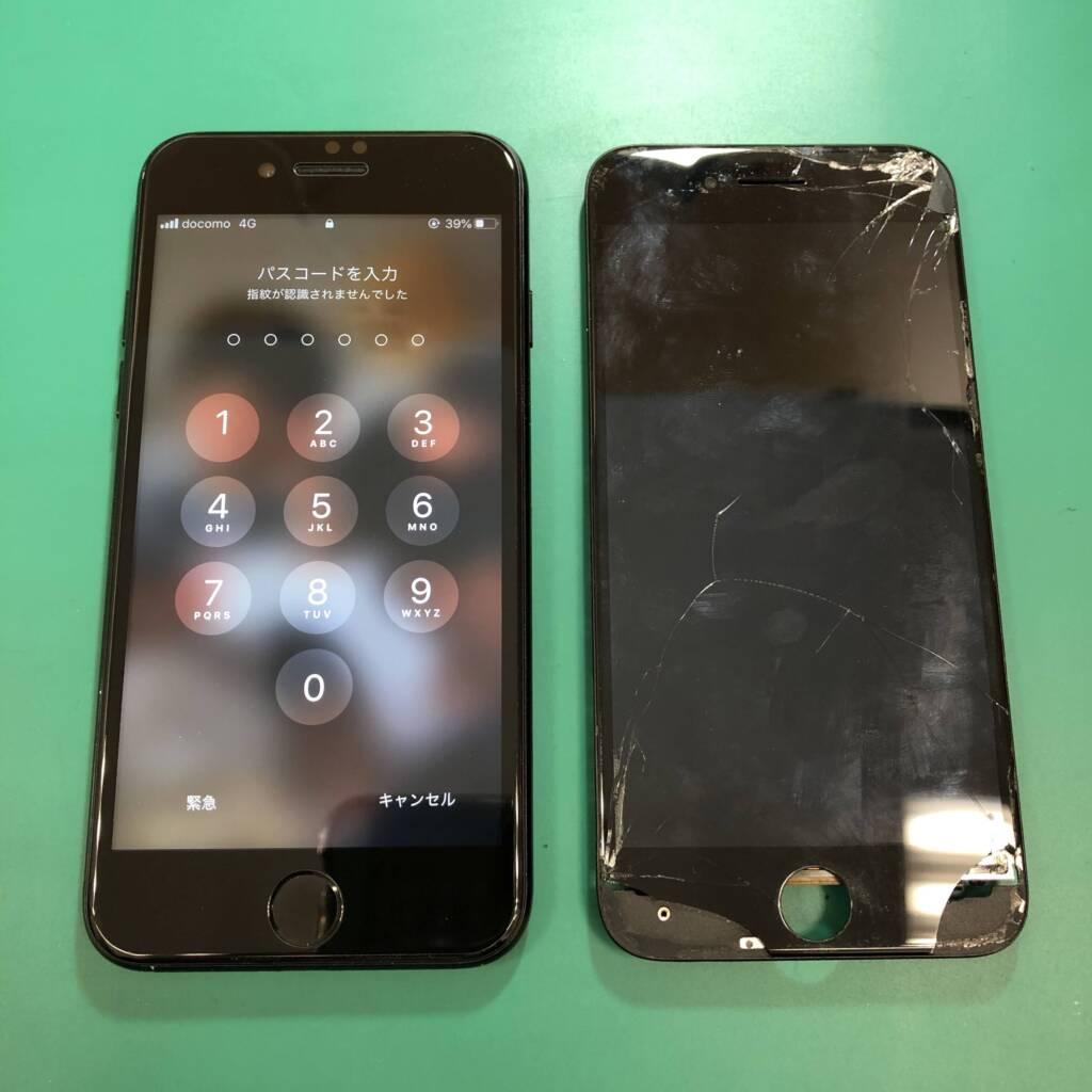 iPhoneの画面修理はお早めに!