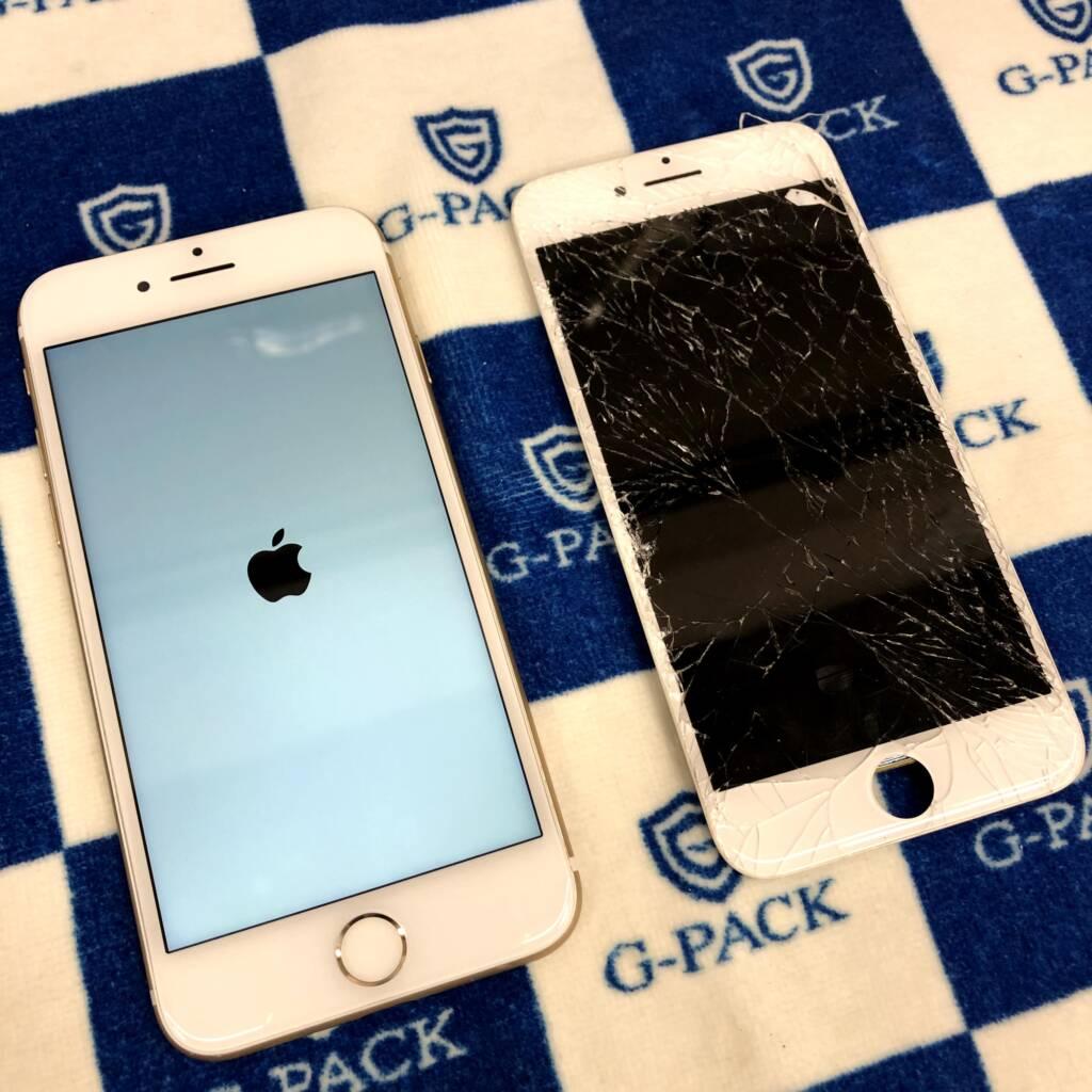 iPhoneの画面修理ご予約承っています