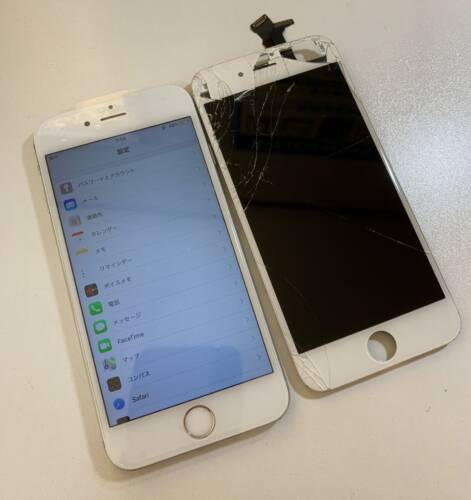 京都郡苅田町よりiPhone6 画面修理