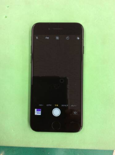 iPhone7 落下の衝撃でカメラが真っ暗に