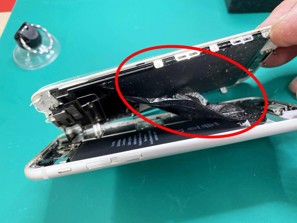 iPhone6s 他店不良修理