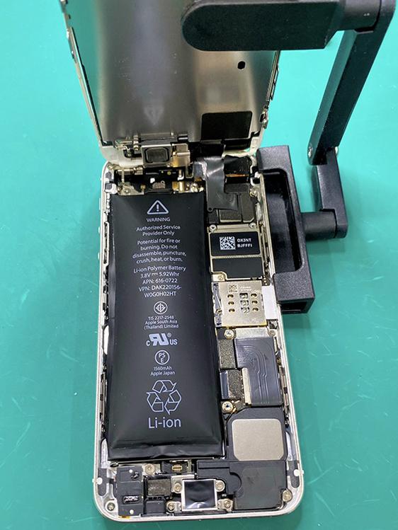iPhone 5s バッテリー膨張
