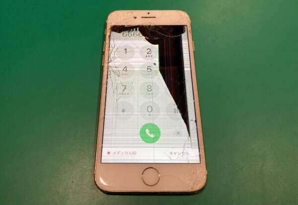 液晶破損とゴーストタッチ [iPhone7]