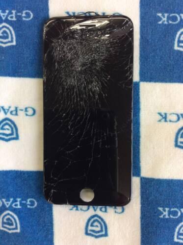 クモの巣状に割れたiPhone7の画面修理