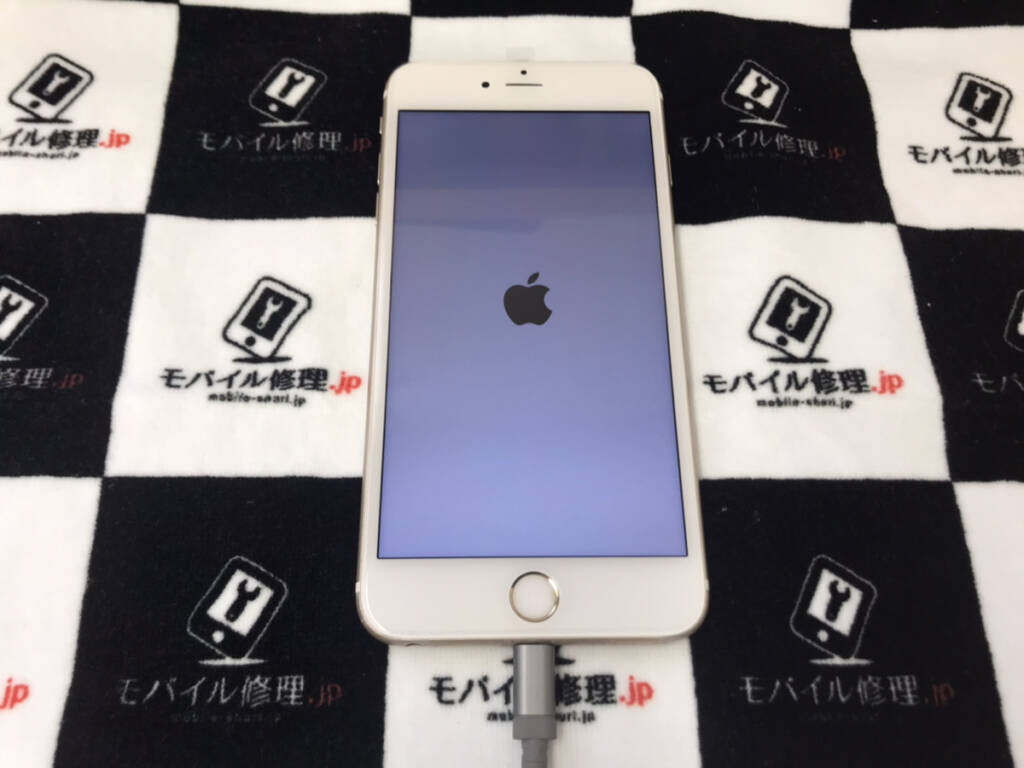 無事復旧したiPhone6sPlus