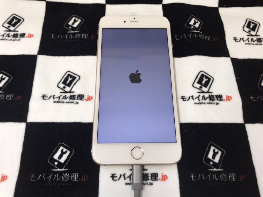 画面交換で無事復旧したiPhone6sPlus