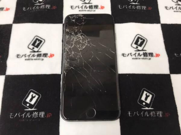 【iPhone8】画面割れによってタッチ感度が悪くなった