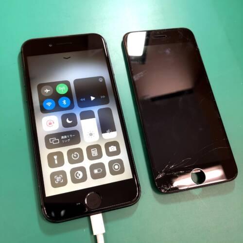 iPhoneの画面修理お任せください 岡山市マルナカ高屋店