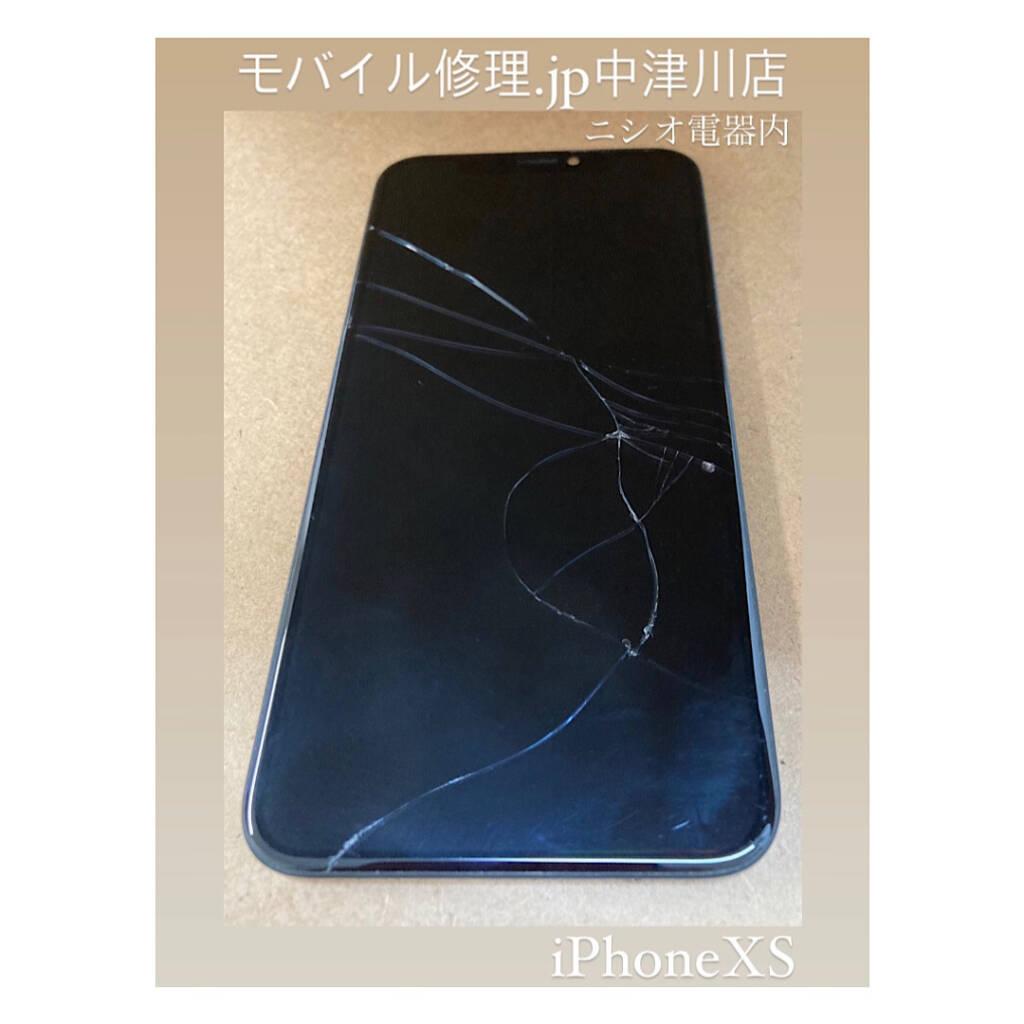 iPhoneXS画面割れ