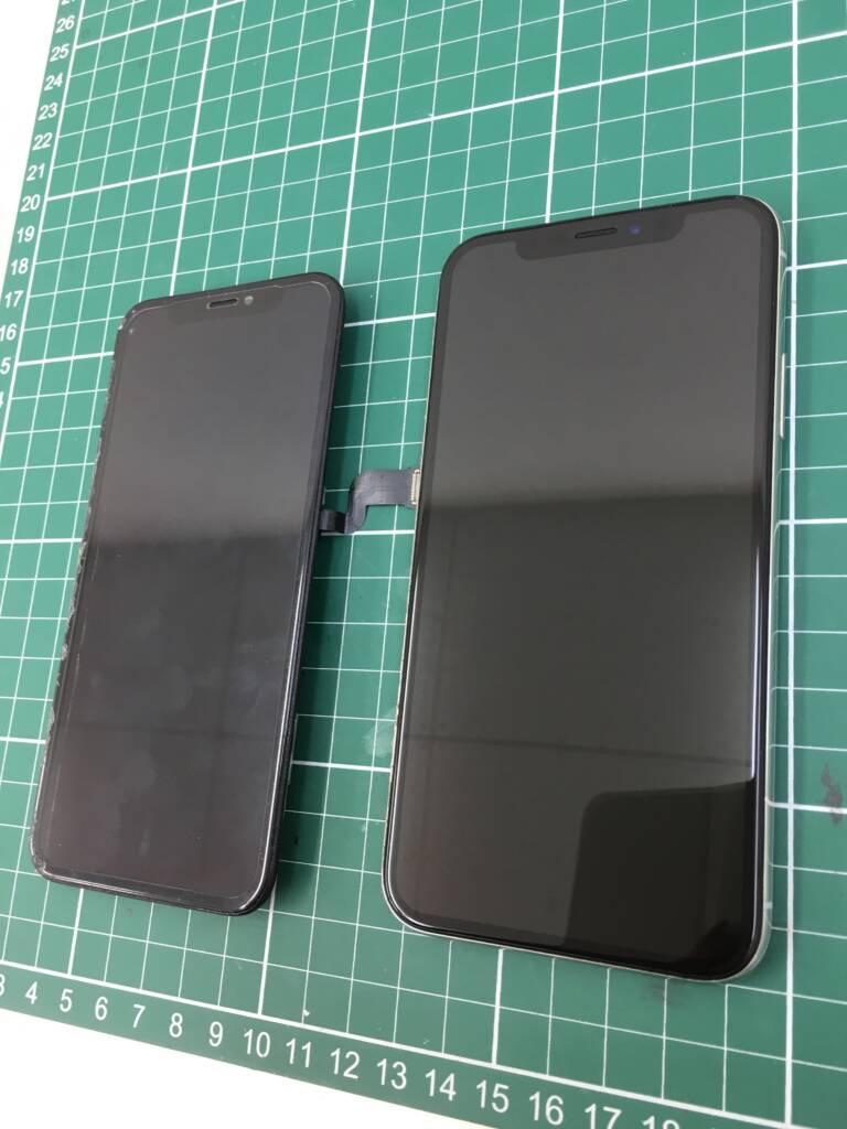 iPhoneXフロントパネル交換