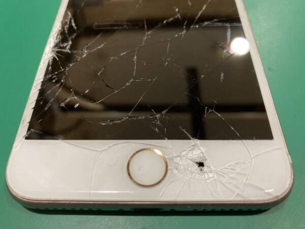iPhoneに穴が開いたら放置しないでください
