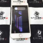 液晶が壊れているiPhone6