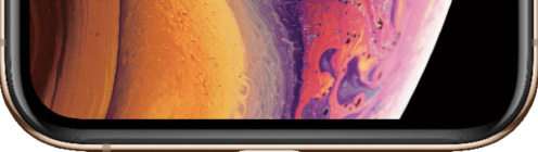 iPhoneXS display