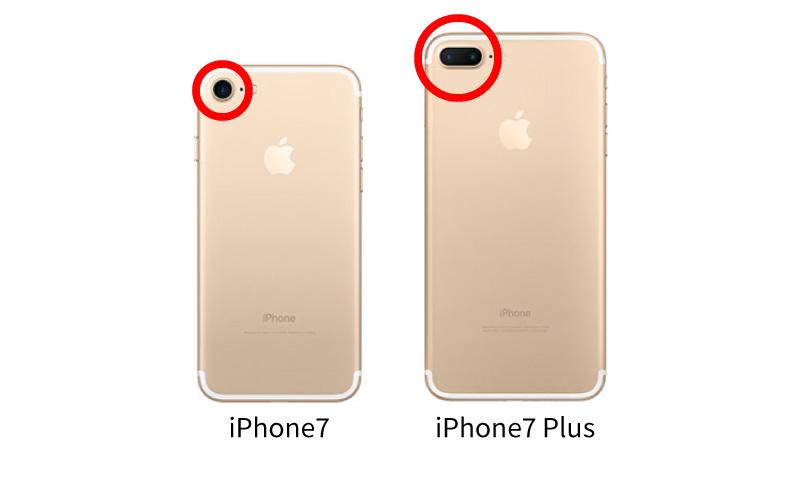 iPhone7 iPhone7Plus 比較